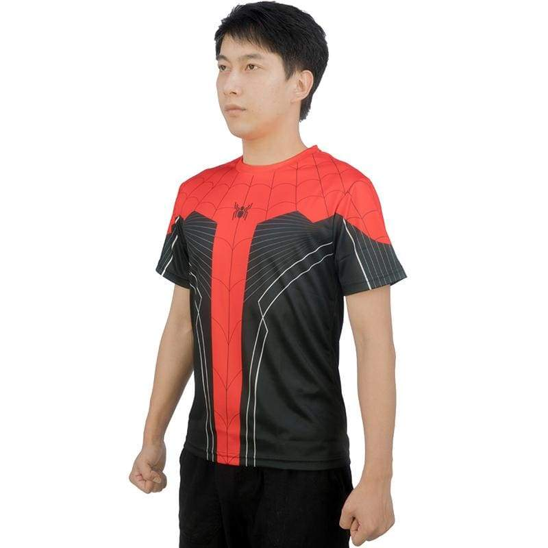 xcoser-de,XCOSER 2019 Summer New T-Shirt Spider-Man: Far From Home T-shirt Parent Child Clothing/Outfit,T-shirts