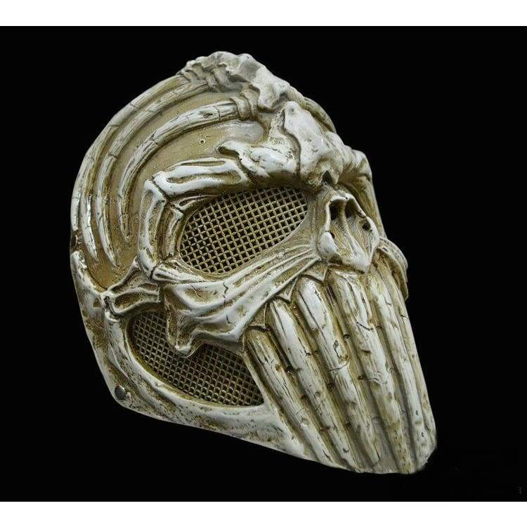 xcoser-de,Xcoser Alien Bone Cosplay Resin Mask for Halloween,Mask