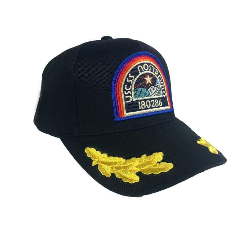 xcoser-de,Xcoser Alien: Resurrection Nostromo Brett Cap Baseball Black Cotton Cap,Hats