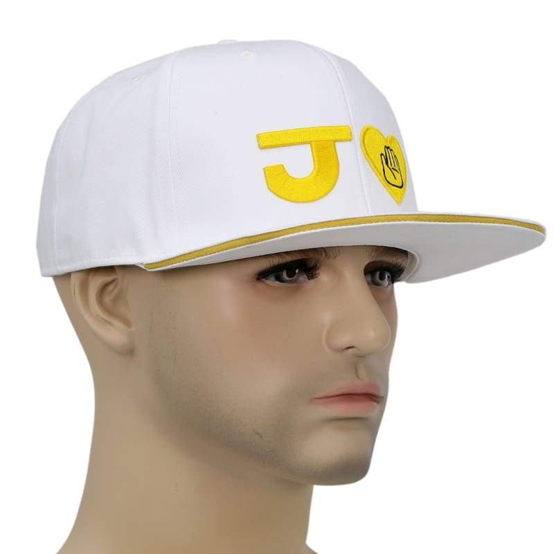 xcoser-de,XCOSER Anime JoJo's Bizarre Adventure Baseball peak Cap Hat For Cosplay,Hats