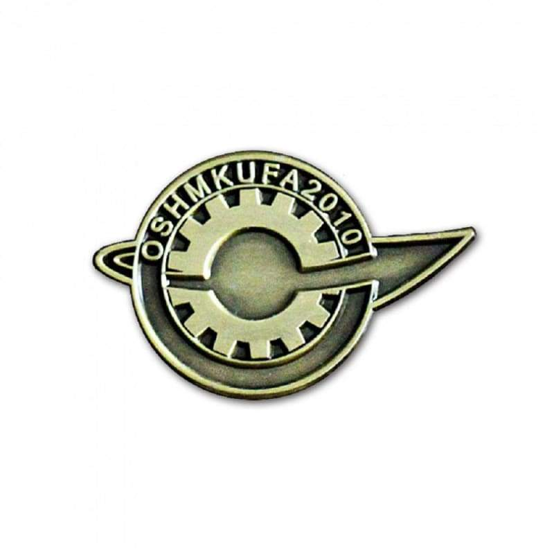 xcoser-de,XCOSER Anime Steins Gate Pin Brooch SG Badge Makise Kurisu Llabmem Emblem Cosplay Accessories Replica,Jewelry