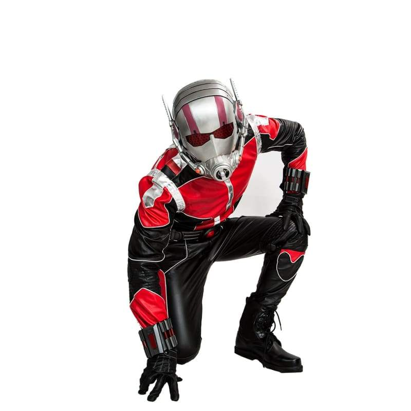 xcoser-de,Xcoser Ant-man Cosplay Black and Red Costume,Costumes