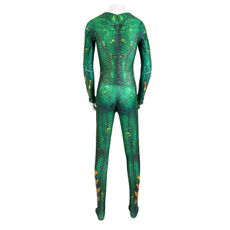 xcoser-de,XCOSER Aquaman Mera Zentai Hot Movie Cosplay Costume,Costumes