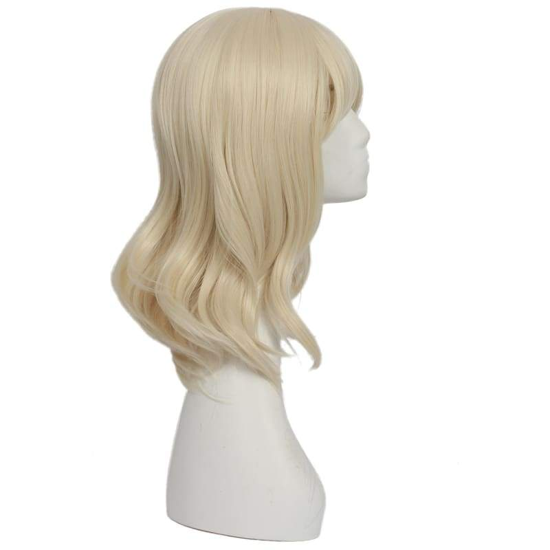 xcoser-de,XCOSER Atomic Blonde Movie Cosplay Lorraine Broughton Light-Yellow Wig Accessory,Wigs