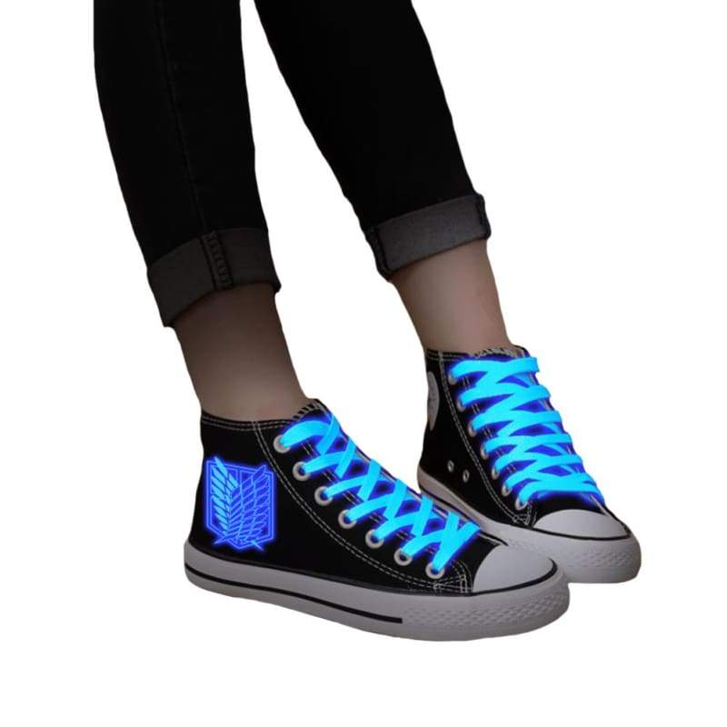 xcoser-de,XCOSER Attack On Titan Anime Cosplay Attack On Titan Related £Ãanvas Shoes Luminous Shoes,Others