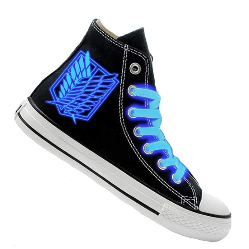 xcoser-de,XCOSER Attack On Titan Anime Cosplay Attack On Titan Related Canvas Shoes Luminous Shoes,Others