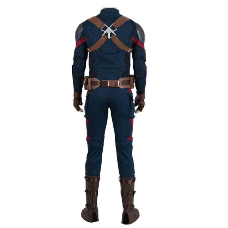 xcoser-de,XCOSER Avenger:Endgame Captain America Cosplay Costume Upgraded version,Costumes