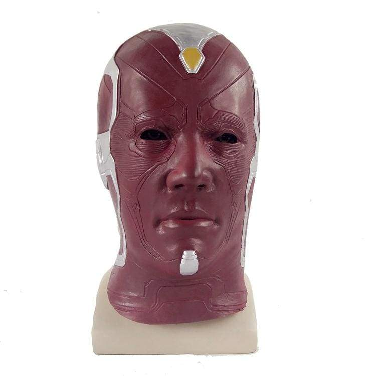 xcoser-de,Xcoser Avengers Vision Latex Mask for Halloween,Mask