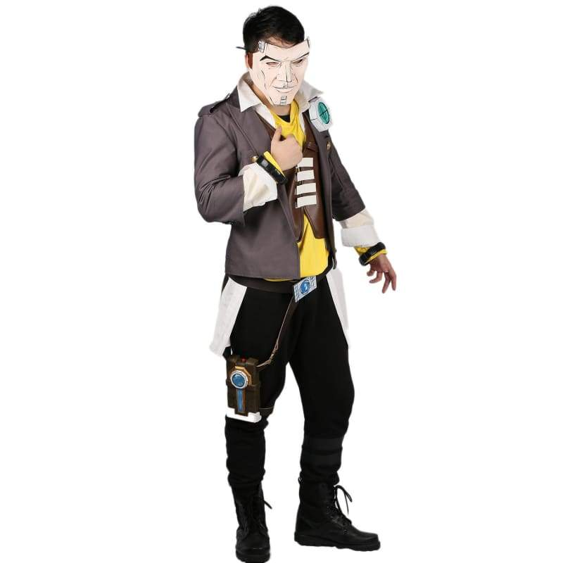 xcoser-de,Xcoser Borderlands Handsome Jack Cosplay Costume,Costumes