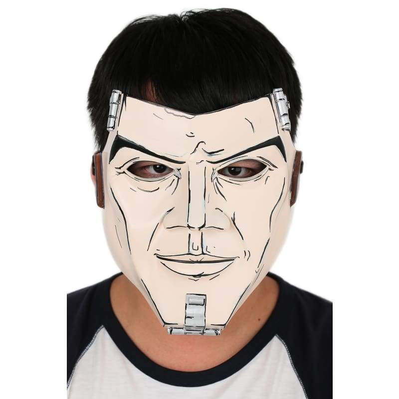 xcoser-de,Xcoser Borderlands Handsome Jack Deluxe Resin Mask Cosplay and Halloween Props with Xcoser Logo,Props