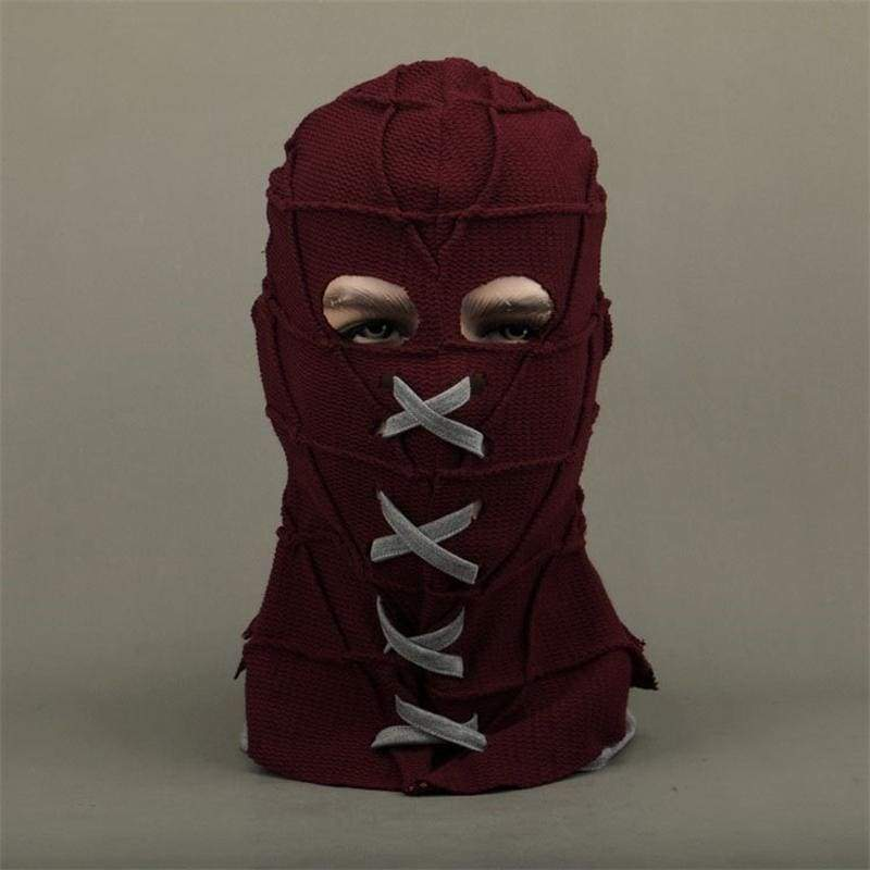 xcoser-de,Xcoser BrightBurn Brandon Breyer Knitted fabric Cosplay Mask,Mask