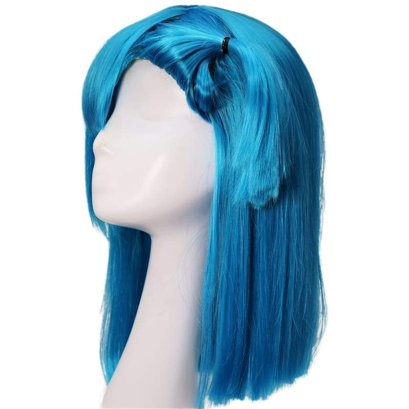 xcoser-de,Xcoser Bulma Wig Dragon Ball Z Cosplay Costume Accessories Pre-styled Wig Hair,Wigs