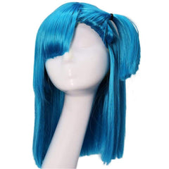 xcoser-de - Xcoser Bulma Wig Dragon Ball Z Cosplay Costume Accessories Pre-styled Wig Hair - Wigs - vendor-unknown