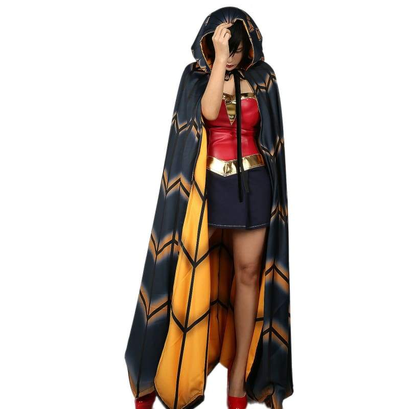 xcoser-de,Xcoser Cape Wonder Woman Hooded Cloak Movie Cosplay Costume,Costumes