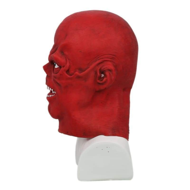 xcoser-de,Xcoser Captain America Red Skull Letax Hood Mask Cosplay Mask(Only For the United States),Mask