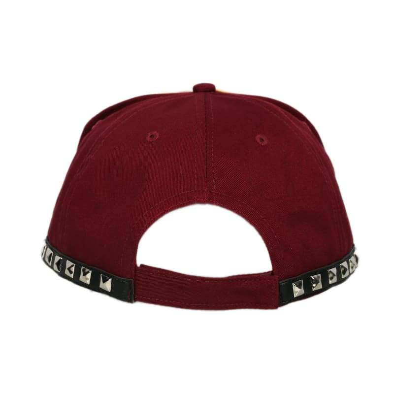 xcoser-de,Xcoser Cindy Aurum Cap Hammer Head Hat Final Fantasy XV Cosplay Props Embroidered Style Red Baseball Cap,Hats