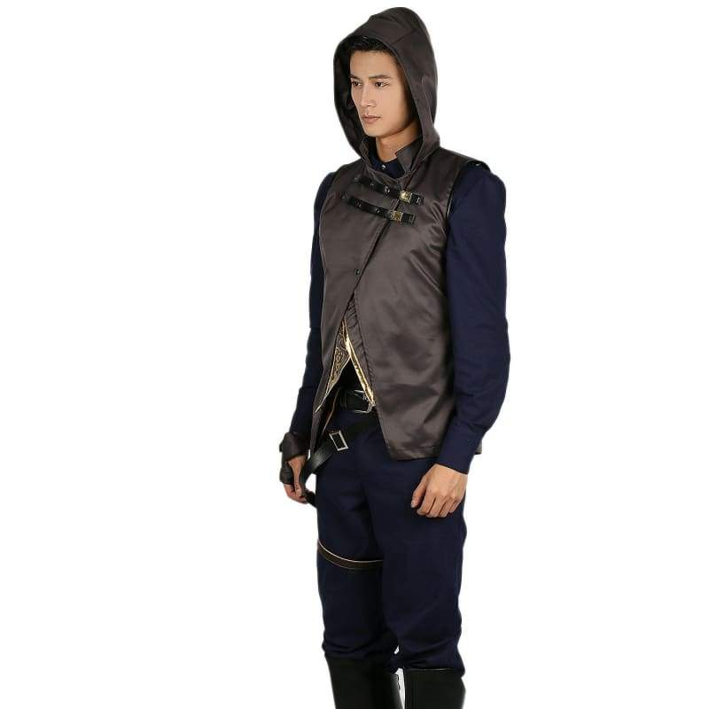 xcoser-de,Xcoser Corvo Attano Costume Deluxe Full Set Outfits Game Dishonored 2 Cosplay Costume,Costumes