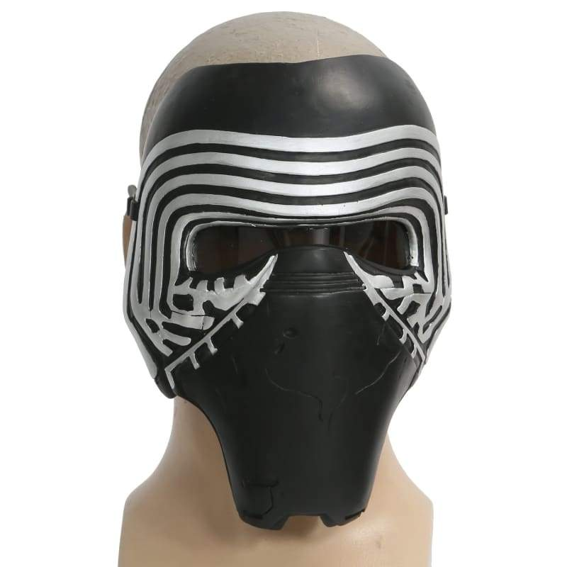xcoser-de,Star Wars The Force Awakens Kylo Ren Maske Kostüm Party PVC halbes Gesicht Maske,Helm