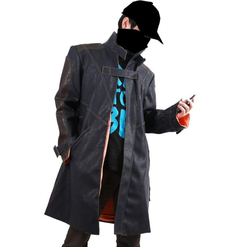 xcoser-de,Xcoser Costumes Aiden Pearce Coat Watch Dogs Jacket,Jackets