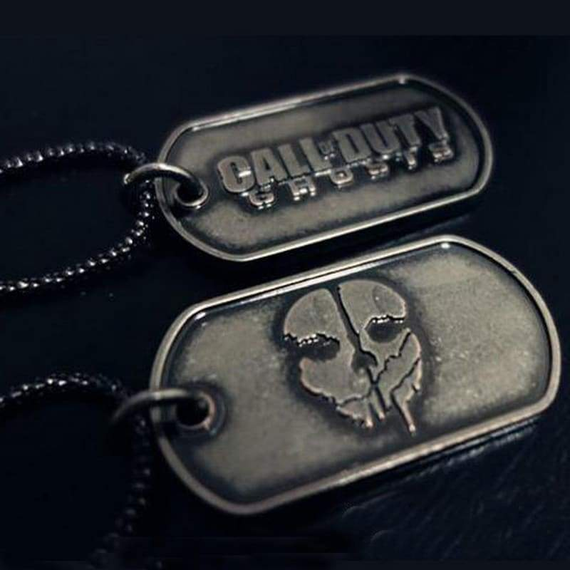 xcoser-de,Xcoser Costumes Call of Duty Ghosts Dog Tag Cod Accessories Cosplay,Jewelry