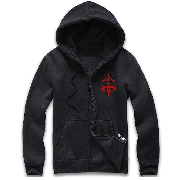 xcoser-de,Xcoser Costumes Fate Zero Costume Saber Cosplay Seal of Command Hoodie,Hoodies