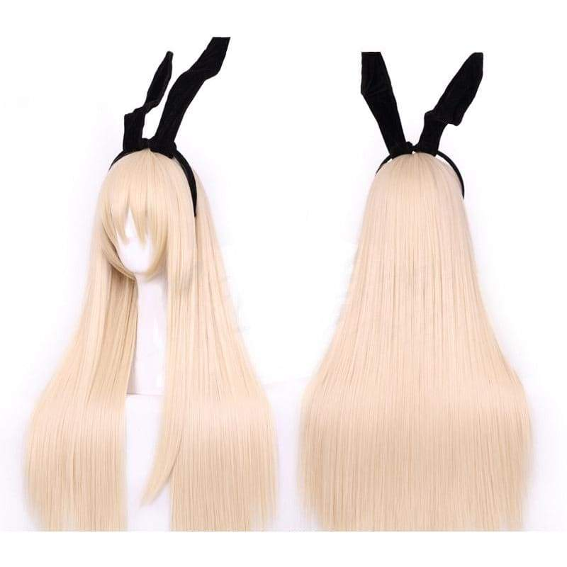 xcoser-de,Xcoser Costumes Kantai Collection Cosplay Kancolle Shimakaze Wig Long Party Hair,Wigs