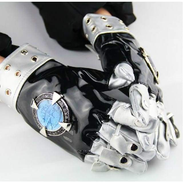 xcoser-de,Xcoser Costumes Katekyo Hitman Reborn PU leather Gloves Cosplay,Props
