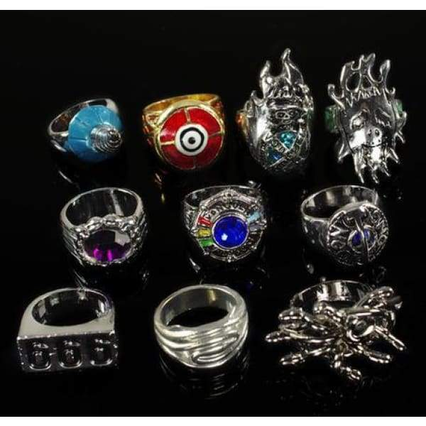 xcoser-de,Xcoser Costumes Katekyo Hitman Reborn Ring Necklace Set Cosplay,Jewelry