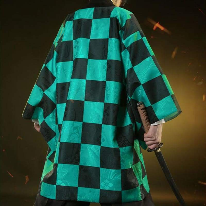 Xcoser Demon Slayer: Kimetsu no Yaiba Tanjiro Kamado Cosplay Costume - Costumes 8