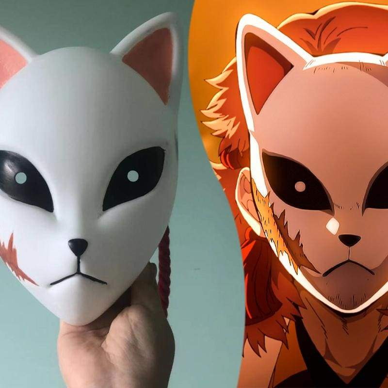 Xcoser Demon Slayer: Kimetsu no Yaiba Tanjirou Kamado Cosplay Mask