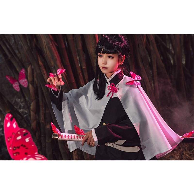 xcoser-de,Xcoser Demon Slayer: Kimetsu no Yaiba Kanao Tsuyuri Cosplay Costume for Women,Costumes