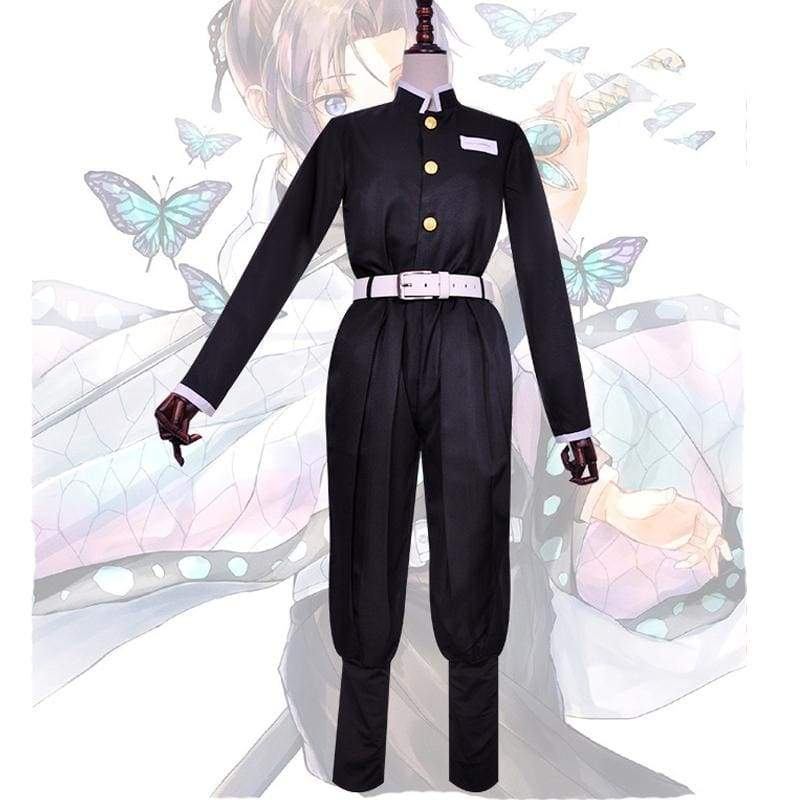 xcoser-de,Xcoser Demon Slayer: Kimetsu no Yaiba Shinobu Koch Cosplay Costume for Women,Costumes