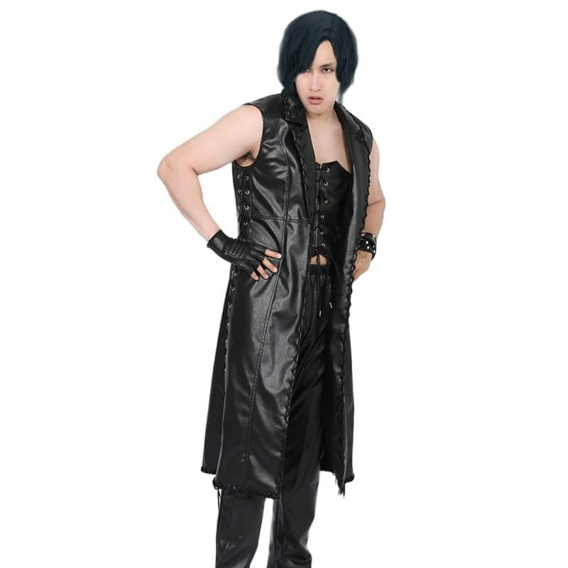 xcoser-de,XCOSER Devil May Cry 5 Cosplay Costume Black PU,Costumes