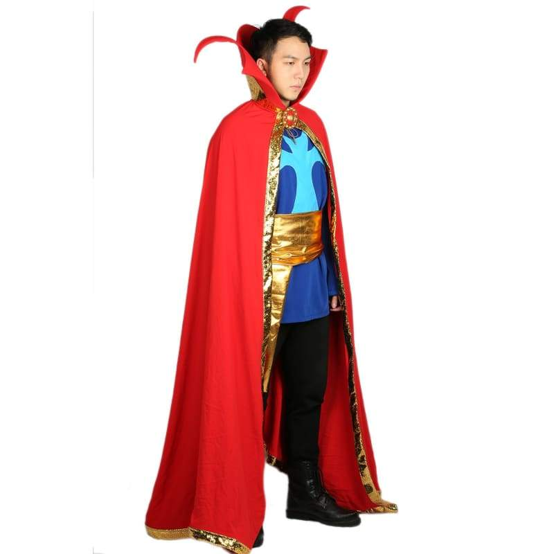 xcoser-de,Xcoser Doctor Strange Costume Comic Version Outfits Halloween Party Cosplay Costume,Costumes