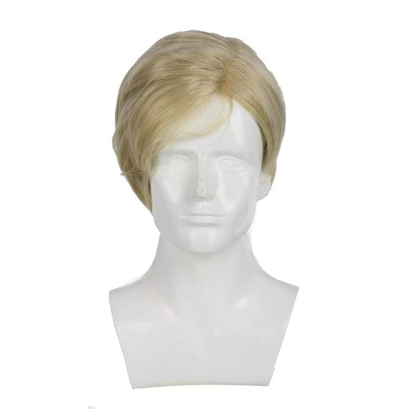 xcoser-de,Xcoser Donald Trump Cosplay Wig Mens Short Light Brown Faux Hair Mr. President Wig Costume Accessory,Wigs