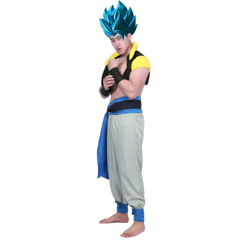 xcoser-de,XCOSER Dragon Ball Super: Broly Gogeta Cosplay Costume,Costumes