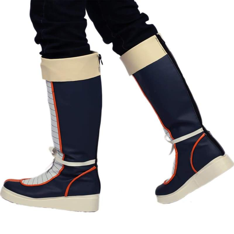 xcoser-de,Xcoser Dragon Ball Yamcha PU Leather Short Boots Yamcha Cosplay Shoes Sale,Boots
