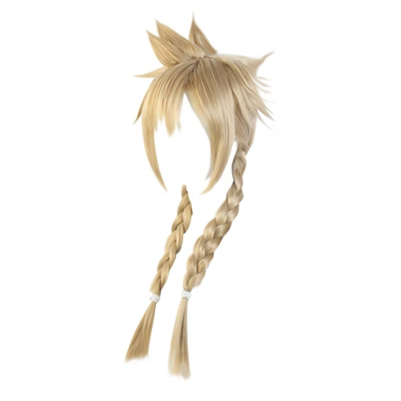 Xcoser Final Fantasy Vii Remake Cloud Strife Wig Twist Braid for Woman and Men - 3