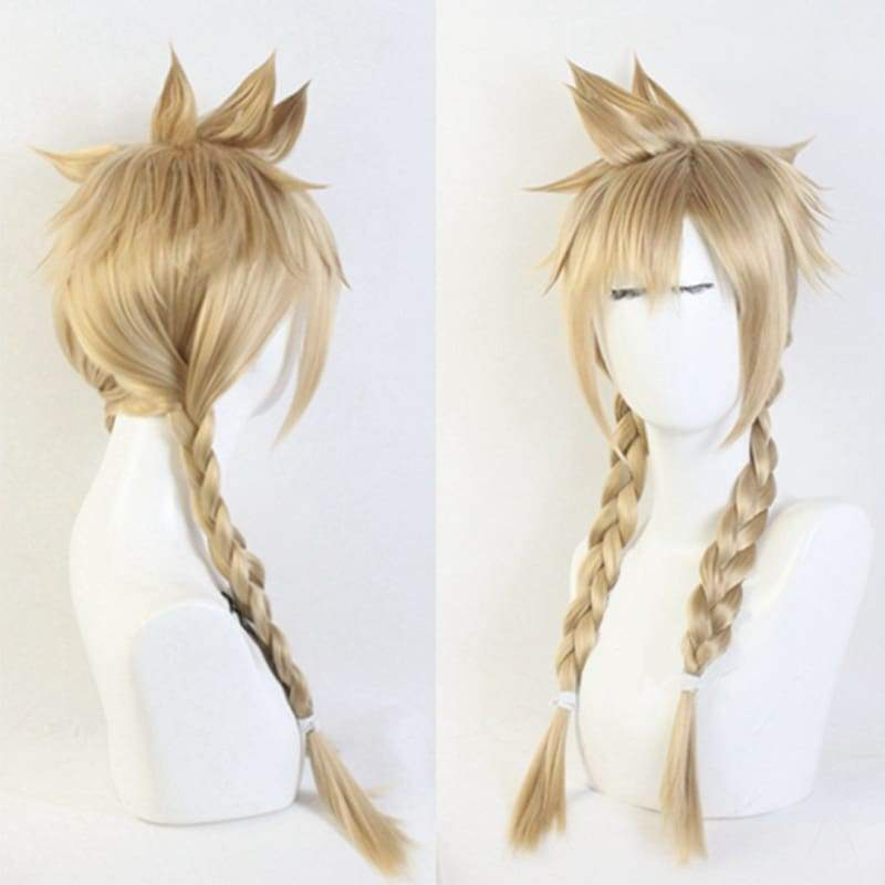 Xcoser Final Fantasy Vii Remake Cloud Strife Wig Twist Braid for Woman and Men - 2