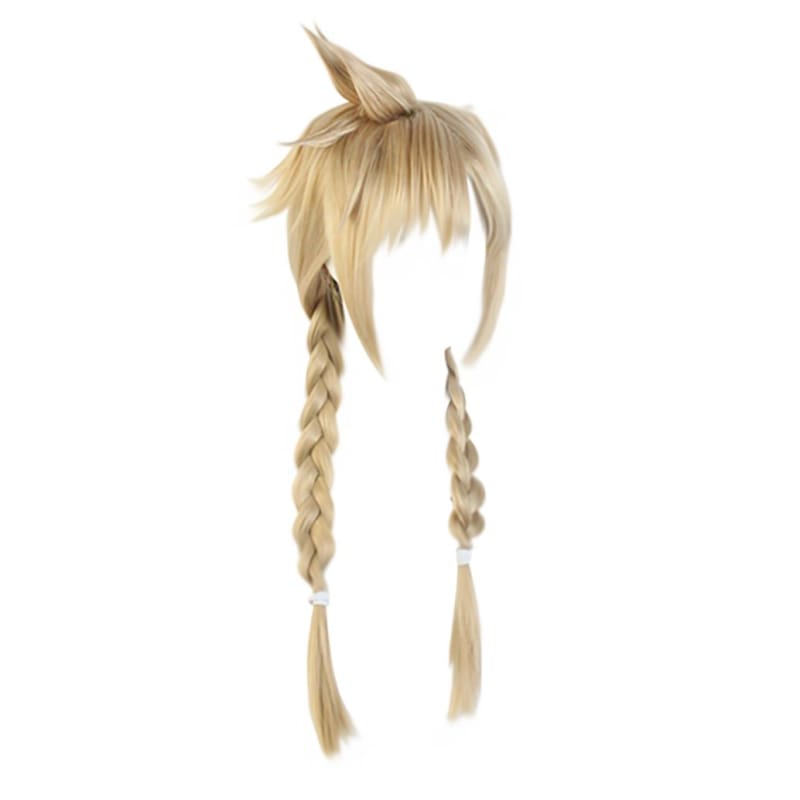 Xcoser Final Fantasy Vii Remake Cloud Strife Wig Twist Braid for Woman and Men - 1