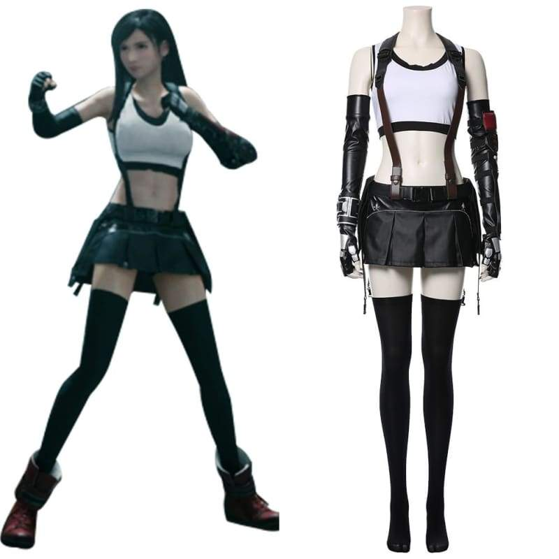 Xcoser Final Fantasy Vii Remake Tifa Lockhart Cosplay Costume - Costumes 1