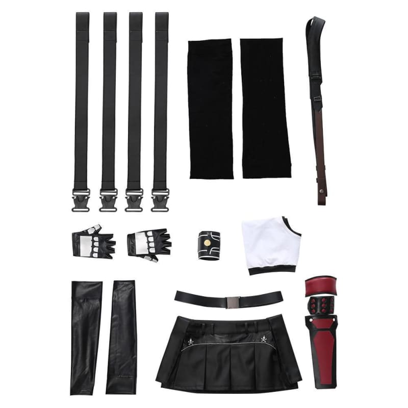 Xcoser Final Fantasy Vii Remake Tifa Lockhart Cosplay Costume - Costumes 11