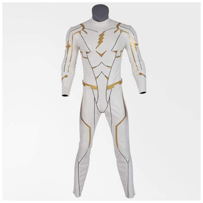 xcoser-de,Xcoser Flash:Season 5 Godspeed August Heart Cosplay Jumpsuit Costume,Costumes