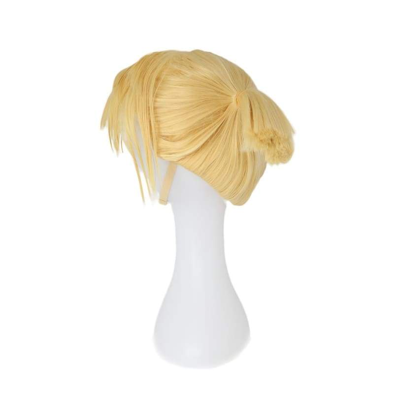 xcoser-de,Xcoser Fortnite Game Sarah Yellow Wig,Wigs