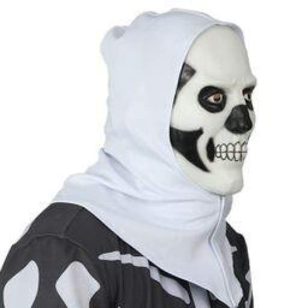 xcoser-de,XCOSER Fortnite Hooded Skull Trooper Mask Halloween Cosplay Mask,Mask