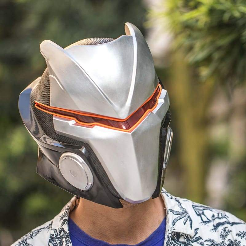 xcoser-de,XCOSER Fortnite Season 4 Max Omega Helmet(with LED light),Helmet