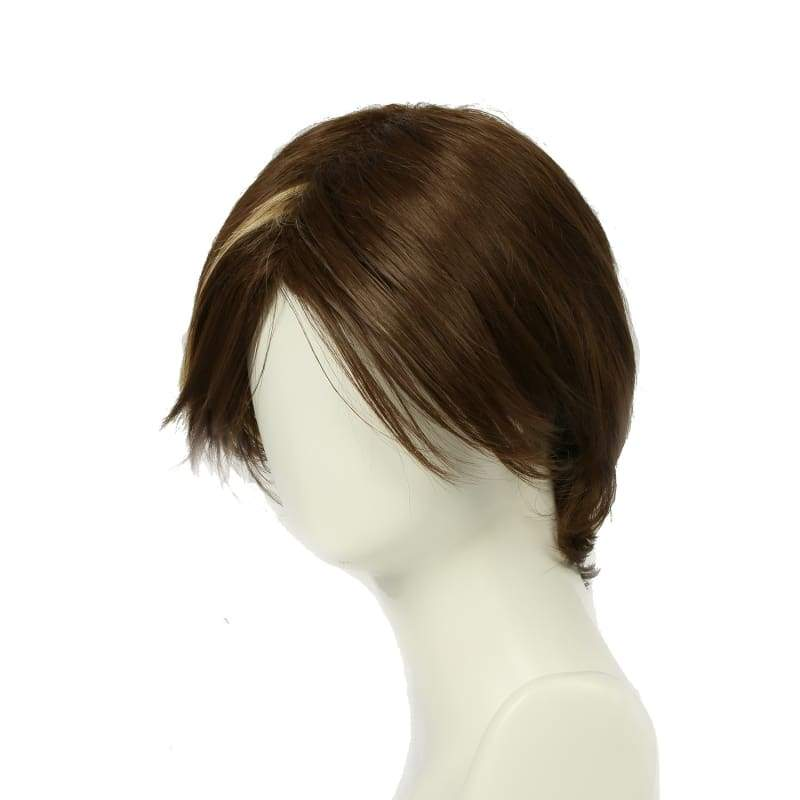xcoser-de,Xcoser Game of Thrones Arya Stark Short Brown Cosplay Wig,Wigs