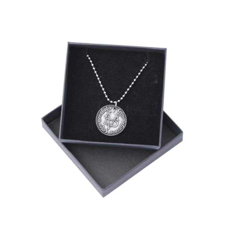 xcoser-de,Xcoser Game of Thrones Faceless Man Coin Arya Stark Necklace,Jewelry