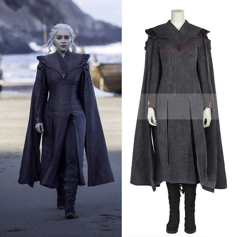 xcoser-de,Xcoser Game of Thrones Season 7 Daenerys Targaryen Cosplay Costume,Costumes