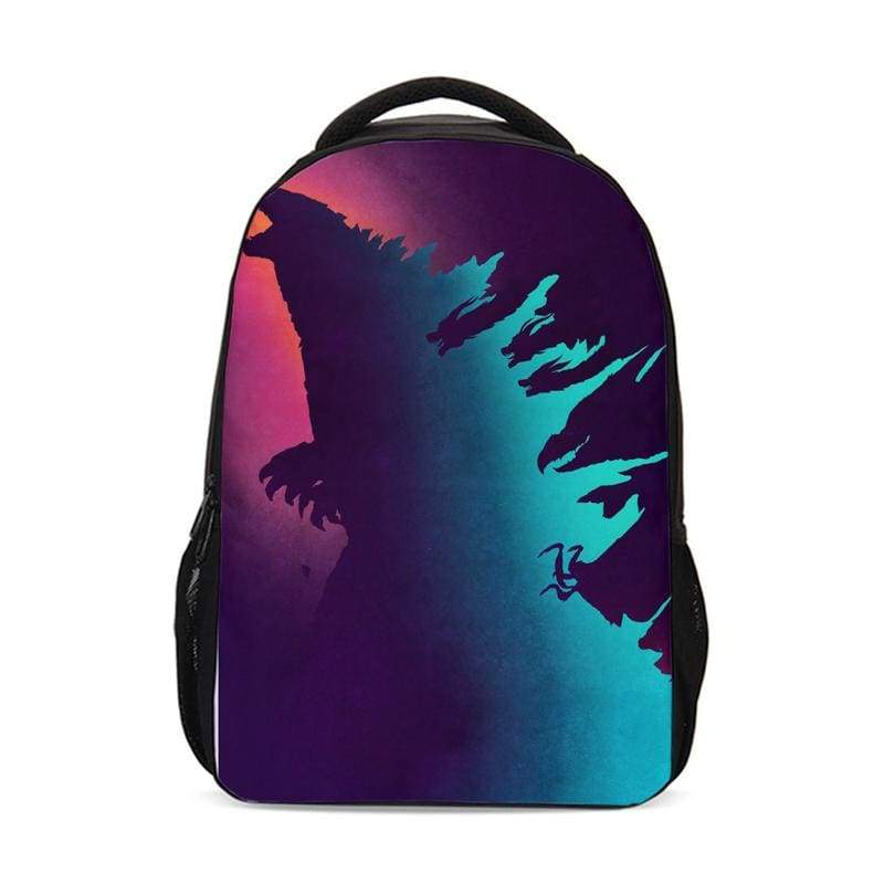 xcoser-de,Xcoser Godzilla: King of the Monsters Godzilla Polyester Backpack,Others